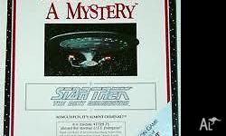 "Vintage 1990 STAR TREK THE NEXT GENERATION ""HOW TO HOST"