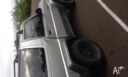 1991 4x4 5 seater mechanically a1 .. Will sell