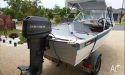 1991 Savage Snipe For Sale!!! 12 ft with 2 stroke 20hp