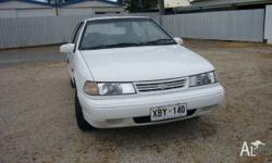 1993 Hyundai Excel Sprint GS White 4 Speed Automatic