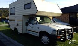 93 Toyota Hilux Camper, petrol, 2Wd, 196000kms, power