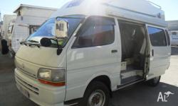 DIESEL AUTO | REAR LADDER FIXED FIBREGLASS HIGH ROOF