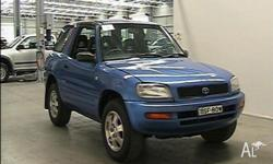 1994 Toyota RAV4 (4X4) Blue 5 Speed Manual 4x4 Hardtop