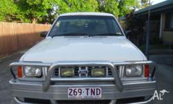 For Sale Ford Courier XL 2.6i 12v 4x4 dual cab ute.