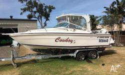 6.8 mtr Haines Hunter 1995 hull 10 months rego on boat