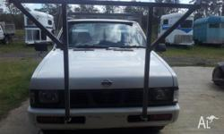 NISSAN NAVARA........... 07/1995, D21, 4 CYL, 5 SPEED