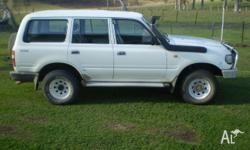 diesel 4.2l , snorkel , bull bar , side steps , duel