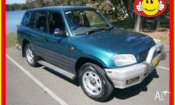 Toyota Rav4, auto, air cond, full power options in