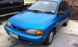 1996 FORD FESTIVA CLEAN IN AND OUT DRIVES WELL COMES