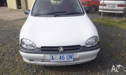 FOR SALE HOLDEN BARINA 5 SPEED MANUAL POWER STEER GOOD