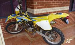 im selling my 1992 Husaberg 400 Just spent $1,100.00 on