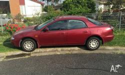 Mazda Astina. Starts runs and rives OK. THE GOOD: Its