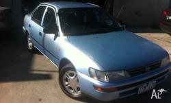 Hi Guys, toyota corolla up sor sale drives good no oil