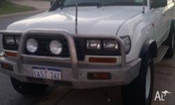 Toyota 80 series landcruiser NEED GONE ASAP! Has done