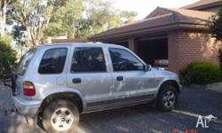 1997 Kia Sportage, 5spd manual. 146000kms, air con.,