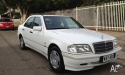 1997 Mercedes benz C180, auto, one adelaide owner since