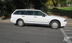 This V6 automatic Magna Executive station wagon has