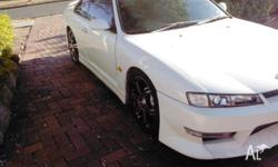 Nissan 200sx coupe sr20 auto Turbo no rego swap for a