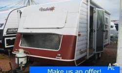 The 1997 Roadstar Voyager 2000 caravan is a great,