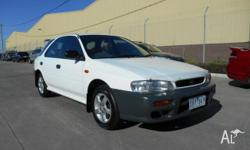GREAT LOOKING 5 SPEED AWD IMPREZA WAGON WITH FULL