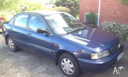 For Sale is my 1997 Suzuki Baleno! This has been a well