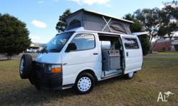 1997 Toyota Hiace twin bed camper, in great condition,