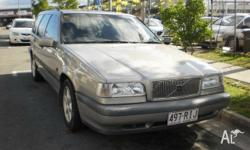 1997 Volvo 850 CD Silver 4 Speed Automatic Wagon