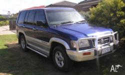 1998 HOLDEN JACKAROO FOR SWAP OR SELL IN VERY GOOD