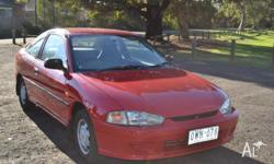 1999 Mitsubishi Lancer coup in good condition, drives