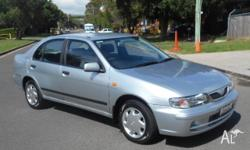 Nissan pulsar Automatic.... This car has a low 150,000