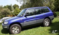 Toyota RAV4 5 speed manual, no RWC as is, Tyres are 10