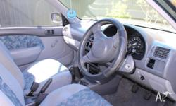 4 cylinder ,5 speed manual, Air conditioning,Air bags,