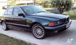 B M W 528I Lovely car inside and out , Gen wheels and