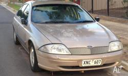 Ford Falcon 1999, auto, dual fuel, excellent condition,
