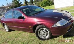 1999 Ford Falcon Futura, Automatic and Dual Fuel This