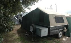 Camper Trailer in excellent condition, large 18ft tent