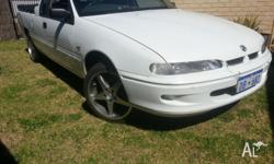 Vs V6 Holden Ute SeriesIII 5sp MANUAL For Sale! Owned