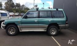 ever reliable pajero - 5 speed, airconditioning, 7