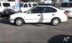 Nice looking zippy Manual Corolla, includes