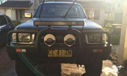 1999 Sr5 Hilux Dual Cab Ute The Car is well taken care
