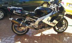 99 zx9r for sale New brake discs and pads front and