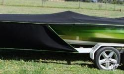 This 19 foot Stephenson ski boat is for genuine sale.