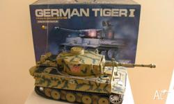 Here I have a used 1�16th Scale model of a Tiger I Tank