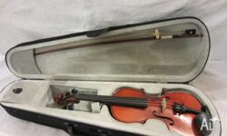 1/2 Lichmere Violin made for Hoffmans String 2009 Maple
