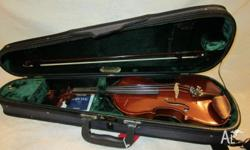 1/2 Size Scott Cao Violin Scott Cao is an acclaimed