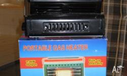 !.3 Kw Portable Gas Heater. Uses small butane gas