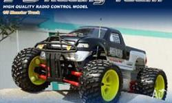 1 5 radio control monster truck ready to run with 30cc