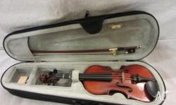 1/8 Lichmere Violin made for Hoffmans String 2008 Maple