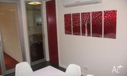 We have a fully furnished shared office available in