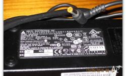 1 x Delta laptop power supply 19 volts 7.1 amps, 135